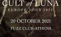 Οι Cult of Luna την Τετάρτη 20 Οκτωβρίου 2021 στο Fuzz Club