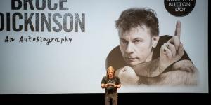 Live Review: Bruce Dickinson (Βιβλιοπαρουσίαση) @ Θέατρο Παλλάς, 4/11/19