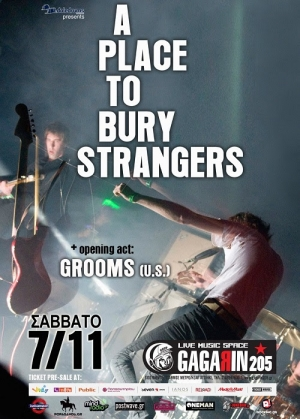 Live review: A Place To Bury Strangers / Grooms @ Gagarin 205, 7/11/2015