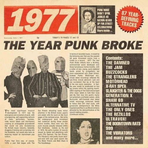 V/A - 1977: The Year Punk Broke (Cherry Red Records, 2019)
