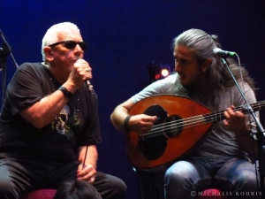 Live/photo report: Eric Burdon / Γιάννης Χαρούλης press event 9/7/2014 @ Stage Volume 1