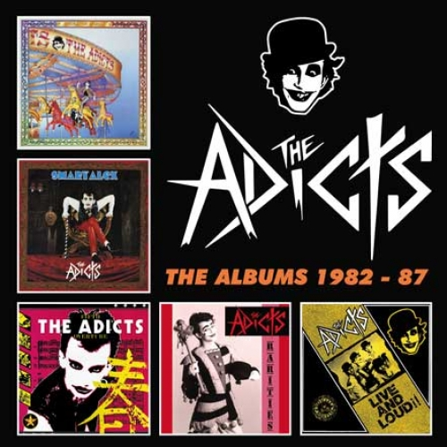 The Adicts – The Albums 1982-87 (Captain Oi!, 2018)