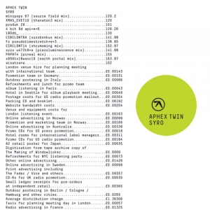 Aphex Twin - Syro (Warp Records, 2014)