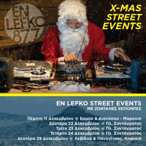 En Lefko 87.7 Xmas Street Events!