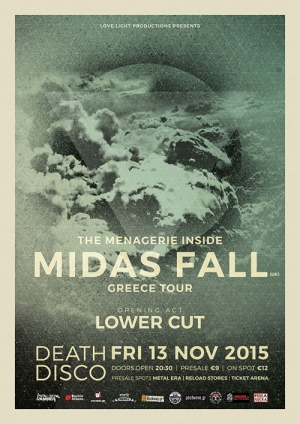 Live review: Midas Fall / Lower Cut @ Death Disco, 13/11/2015