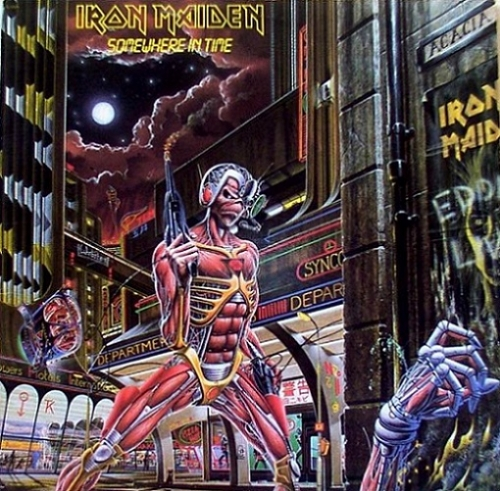 ROOKIE'S CORNER: Iron Maiden – Somewhere in Time