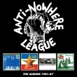 Anti-Nowhere League – The Albums 1981-87 (Cherry Red Records, 2018)