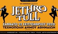 Jethro Tull   Σάββατο 12 Σεπτεμβρίου 2020   Τεχνόπολη Δήμου Αθηναίων - ΑΚΥΡΩΣΗ