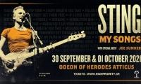 STING | Ηρώδειο | 30 Σεπτεμβρίου και 1 Οκτωβρίου 2021