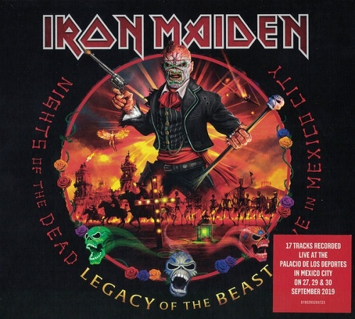 Iron Maiden - Nights of the Dead. Legacy of the Beast: Live in Mexico City (Parlophone, 2020)